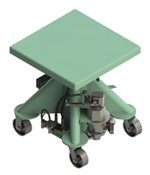 1000-Pound-Capacity-Air-Powered-Lift-Table-24-Inch-Square Deck-L-124-AP