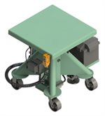 1000-Pound-Capacity-Battery-Powered-Lift-Table-24-Inch-Square Deck-L-124-BP