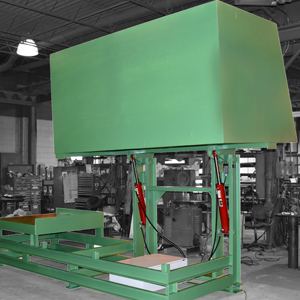 Box Dumper - Custom Built by Lange Lift in the USA