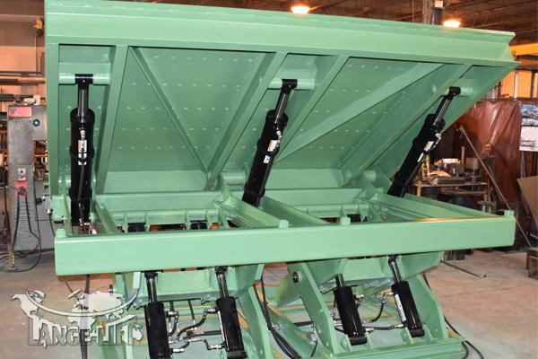 Custom Scissor Lift & Tilt #32996-97 - Tooling Mounts | Lange Lift