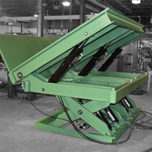 Scissor Lift Table - Custom Built by Lange Lift in the USA