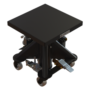 Air Powered Hydraulic Lift Table - 24 inch - Lange Lift