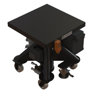 Hydraulic Battery-Powered Lift Table - 24 inch - Lange Lift