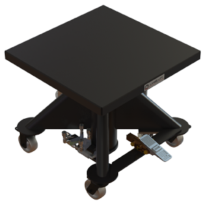 Air Powered Hydraulic Lift Table - 30 inch - Lange Lift