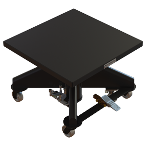 Air Powered Hydraulic Lift Table - 36 inch - Lange Lift