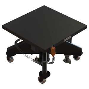 Hydraulic Battery-Powered Lift Table - 36 inch - Lange Lift