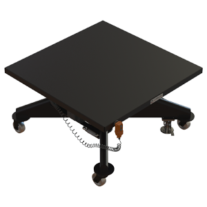 Hydraulic Battery-Powered Lift Table - 48 inch - Lange Lift