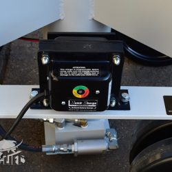 battery powered large phenolic caster 35318 e