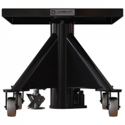 L130 600px 1000 lbs capacity hydraulic lift table square back