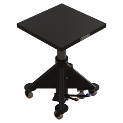 Deck View - 24-in Manual Lift Table by Lange Lift