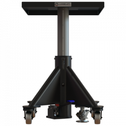 L130 600px 1000 lbs capacity hydraulic lift table square raised