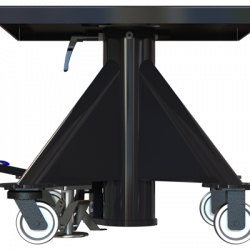 L130 600px 1000 lbs capacity hydraulic lift table square right side