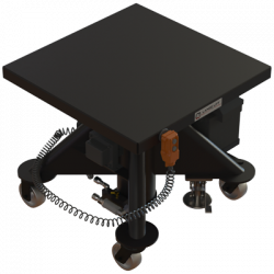 L 130 bp 600 px 1000 lbs capacity battery powered hydraulic lift table square isometric
