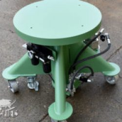 air powered lift table