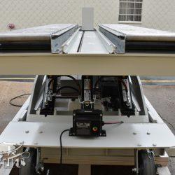 battery powered hydraulic scissor lift table roller conveyor 34467 d