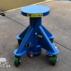 blue lift table